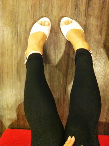 購入高根涼鞋鼓勵自己減肥成功