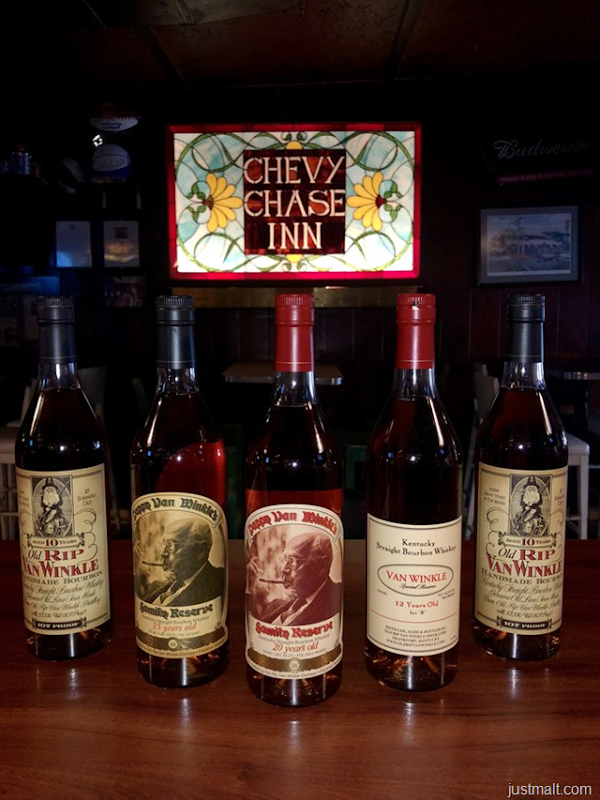 Pappy Thanksgiving! Chevy Chase Inn is Selling Pappy Van Winkle at Cost
