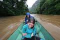 Heading downstream in the rain | photo © Matt Kirby