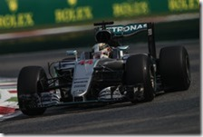 Lewis Hamilton ha conquistato la pole del gran premio d'Italia 2016