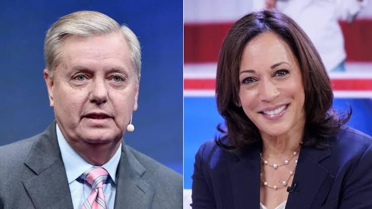 'Kamala Harris will be impeached in 2022 if Republicans take back the house' - U.S. Senator, Lindsey Graham warns
