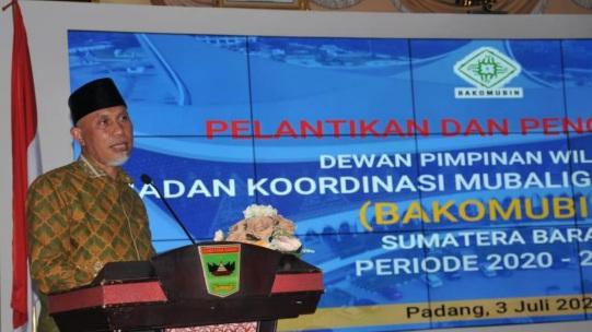 Gubernur Nilai Bakomubin Bisa Selamatkan Umat dari Paham Sekuler