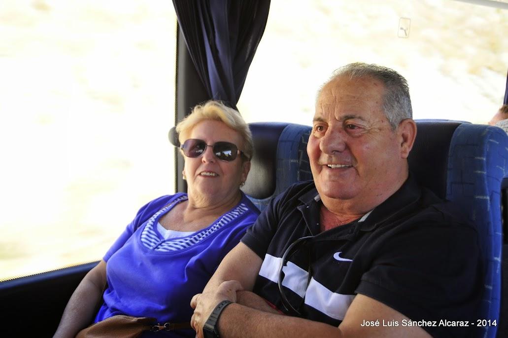 Nuestro amigo Ricardo y señora