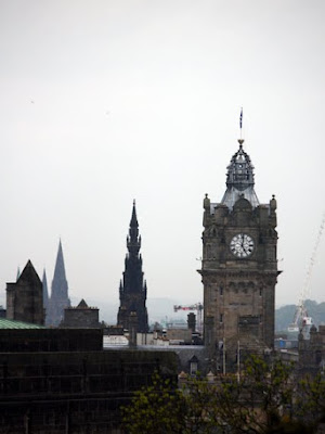 Towers in Edinburgh