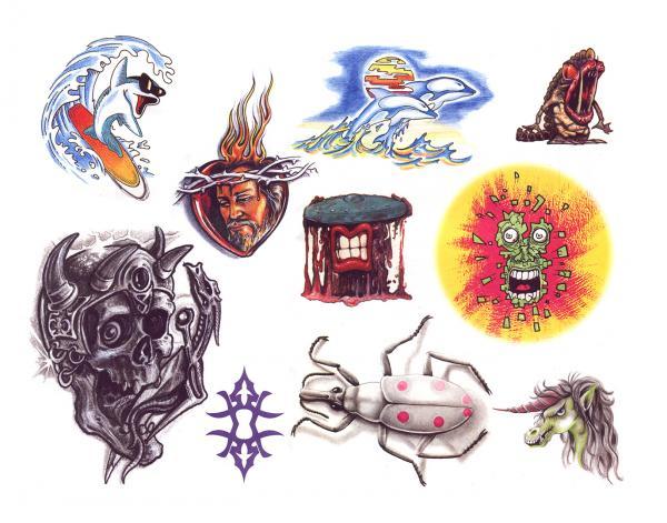 Mysterious Tattoo Design 11, Fantasy Tattoo Designs