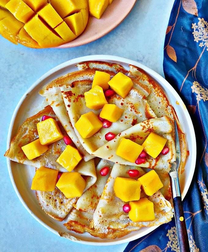 Mango Crepes Recipe | Breakfast Care