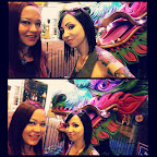 Hanging out with a #dragon and @mandistar on the #VegasStrip.