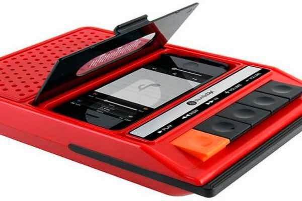 Radio casetera para iphone