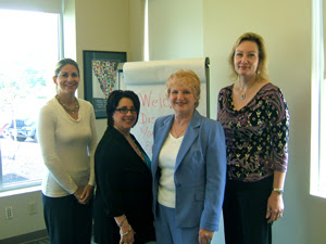 Caroline Worley, Barb Girson, Mary Slane, Karen Sullivan www.MySalesTactics.com