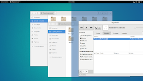 Primeros pasos con GNOME Shell. Hacia la productividad. Ventanas 2.