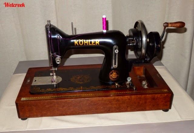 Wetcreek Vintage Kohler Hand Crank Sewing Machine Beauteous Vintage Hand Crank Sewing Machine