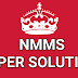 SEB NMMS Exam Question Paper ( 23/12/2018), NMMS Paper Solution