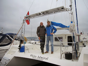 Photo: 24th September Per Skaug and I motor-sailed White Admiral from Engersand to Tofte for winter storage.