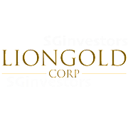 LIONGOLD CORP LTD (A78.SI) @ SG investors.io