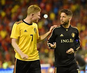 """🎥 """"Seulement deux assists"""": Dries Mertens charrie KDB pour son dixième anniversaire diabolique"""