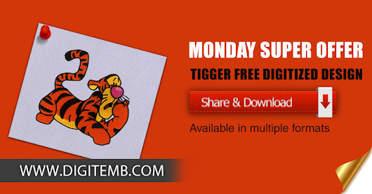 Avail our Latest Monday Super Offer by sharing this Bumbling and Tumbling Tig...