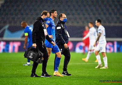 """Nóg een sterkhouder valt uit, KAA Gent houdt hart opnieuw vast: """"Meestal ziet dat er niet goed uit"""""""