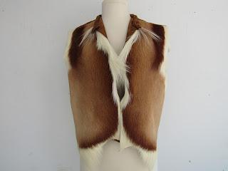 Norma Walters Springbok Waist Coat