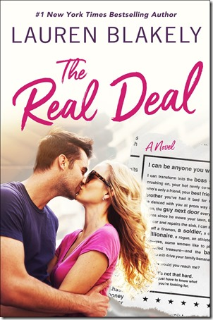New Release: The Real Deal by Lauren Blakely | About That Story