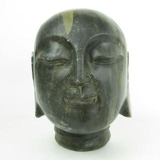 "Buddha Stone 8"" Sculpture"