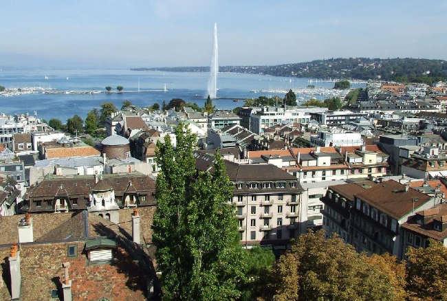 Ginebra en Suiza