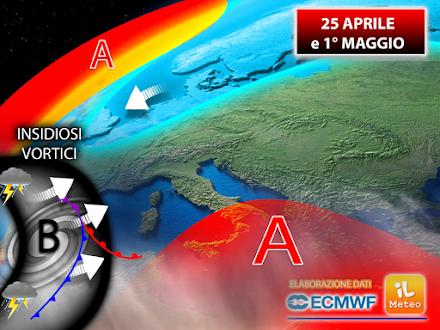 ECMWF - Περίοδος 25 Απριλίου έως 1η Μαϊου : Αφρικανικός αντικυκλώνας ή χειμωνιάτικο σκηνικό θα επικρατήσει στην Ευρώπη;