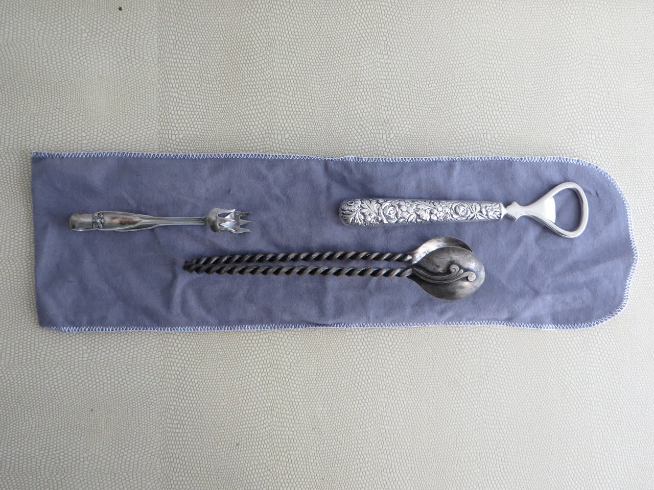 Sterling Silver Barware Set