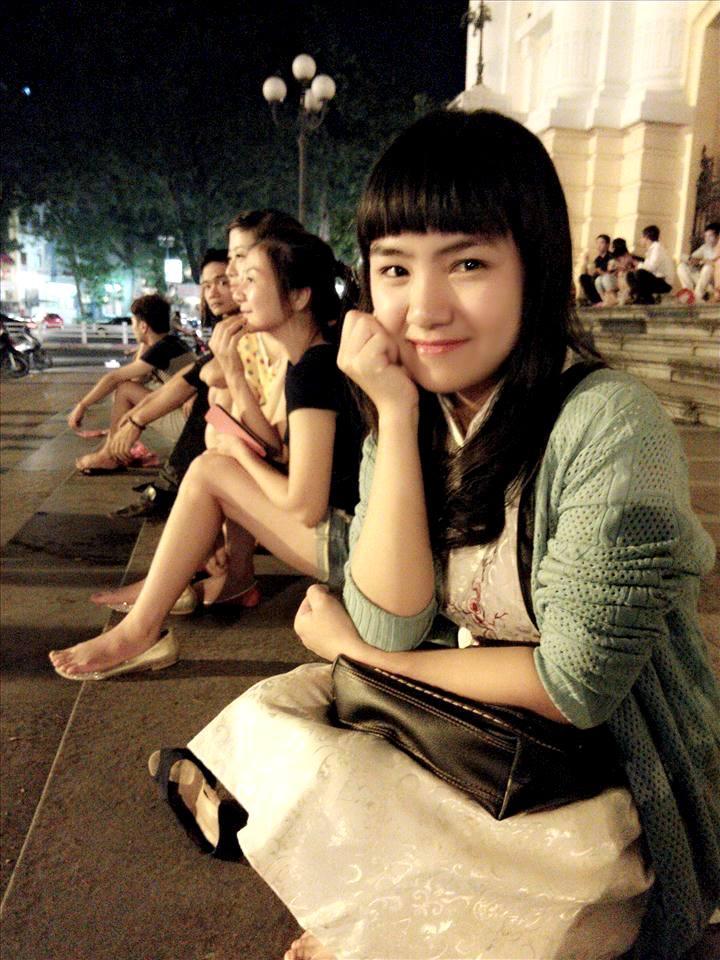 Đỗ Thu Trang xinh đẹp