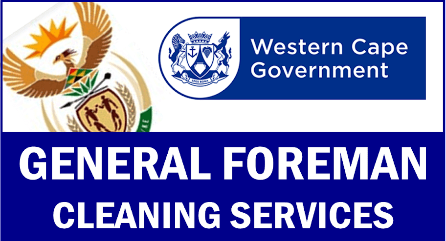 General Foreman Cleaning Services Cape Town