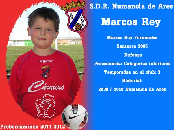 ADR Numancia de Ares. Prebenxamíns 2011-2012. MARCOS REY.