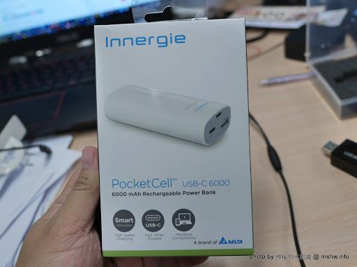 【數位3C】支援Macbook, 萬物皆可充! 小巧輕盈超實用~ Innergie PocketCell USB-C 6000 Type C行動電源 3C/資訊/通訊/網路 新聞與政治 硬體 行動電話 試吃試用業配文 開箱