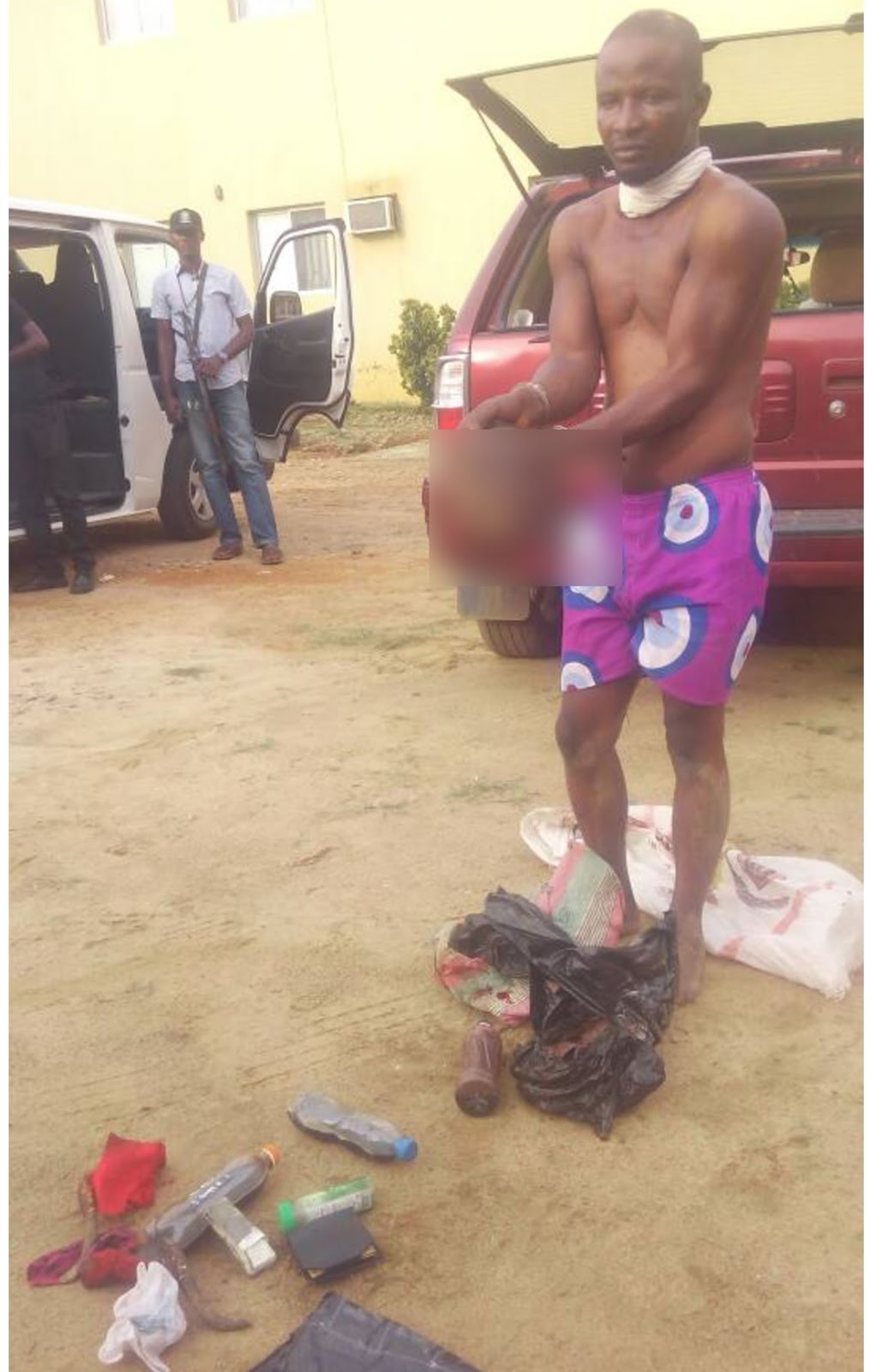 Man Arrested With Fresh Human Head In Ibadan
