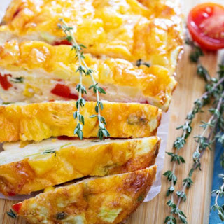 Vegetable Frittata.