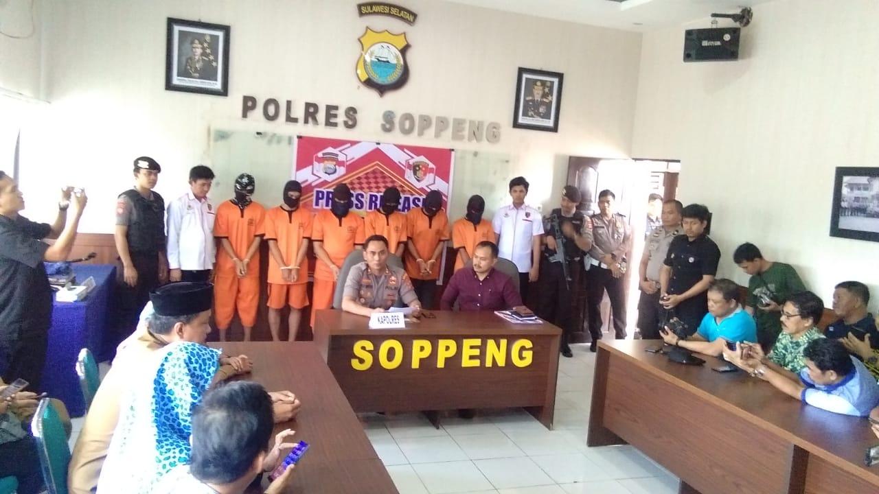 Kekerasan Anak Marak Terjadi di Kabupaten Soppeng Ungkap Kapolres AKBP Puji Saputro Bowo Leksono