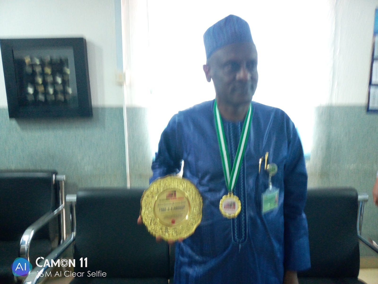 ENGR A.Ahmed Nahuche Baggs Distinguished Personality Award