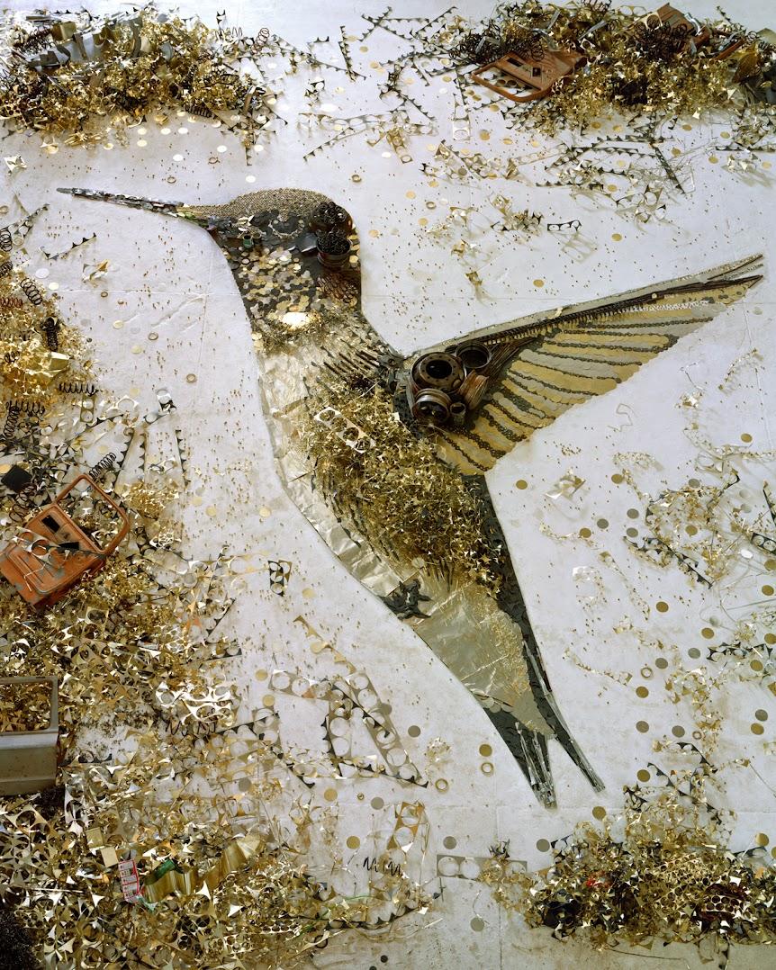 *巴西藝術家VIK MUNIZ:廢金屬回收創作之美! 1