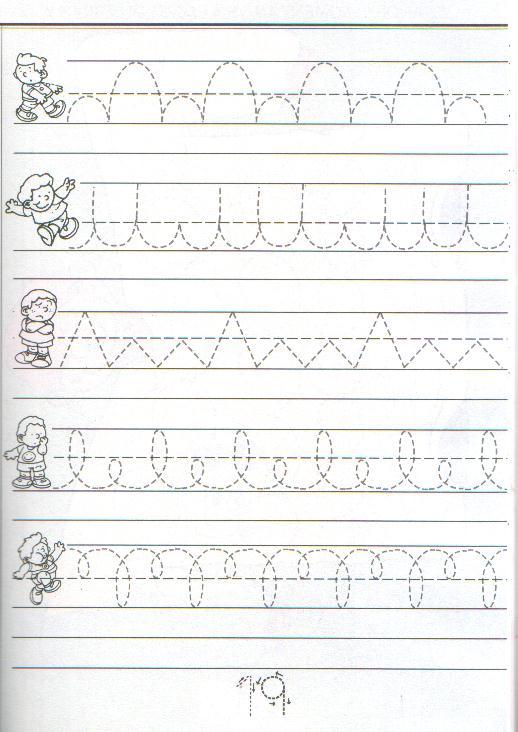 Ejercicios de caligrafia cursiva - Imagui
