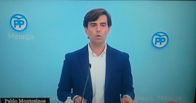 Pablo Montesinos . Acto en Málaga
