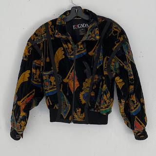 Escada Vintage Velvet Jacket
