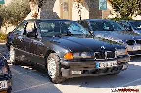 Stock Black BMW E36 Coupe