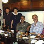 2008年 MalenkaとEsteban博士との会食