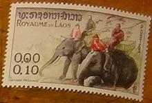 timbre Laos 003