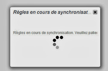 Synchro en cours