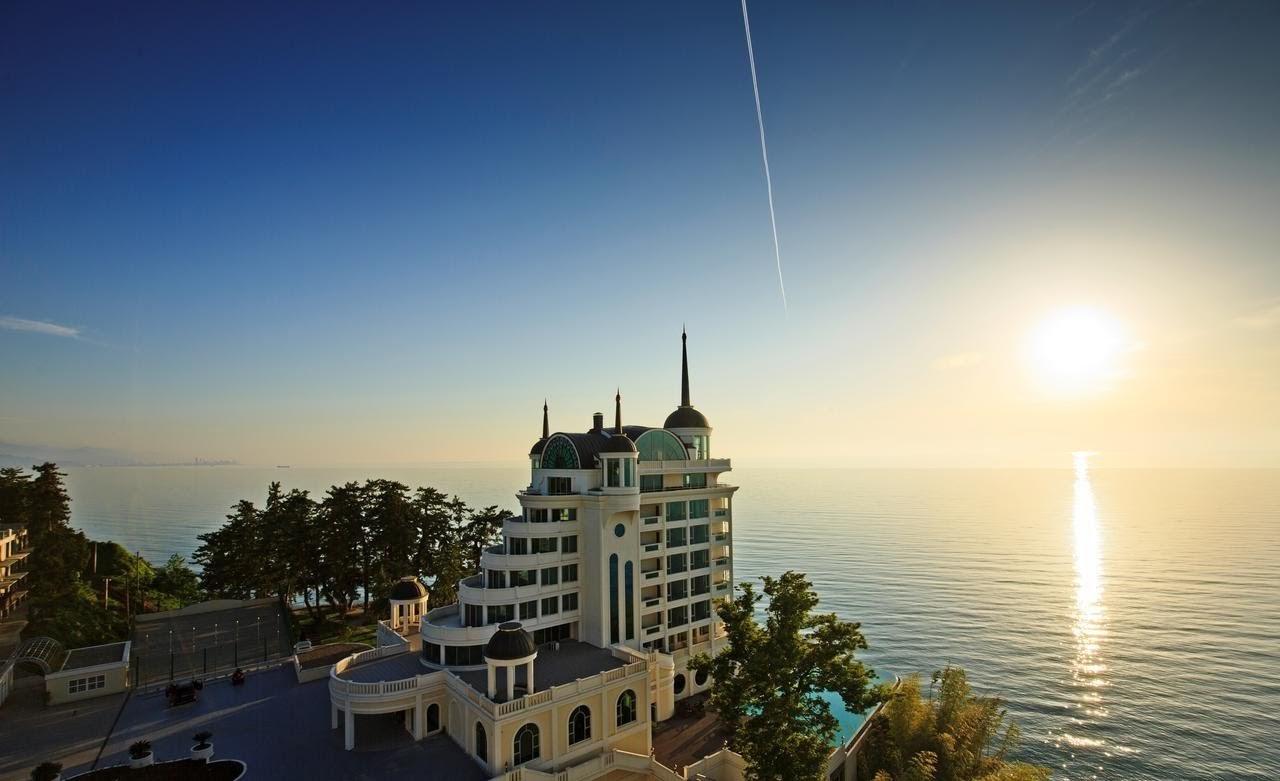 лучший отель Грузии на берегу моря