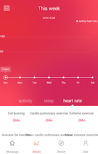 Veryfit for heart rate Screenshot