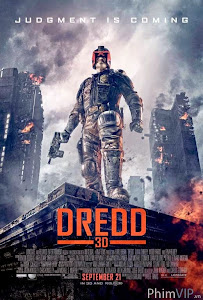 Hội Thẩm Phán - Dredd poster