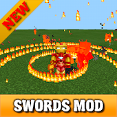 Elemental Swords mod for MCPE