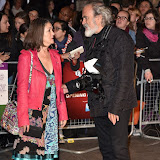 OIC - ENTSIMAGES.COM -  Anwen Rees-Myers and Dave Benett at the  59th BFI London Film Festival: Suffragette - opening gala London 7th October 2015 Photo Mobis Photos/OIC 0203 174 1069