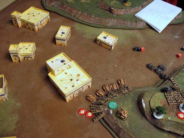 The Marines go down hard, the Guard loose two Chimera.