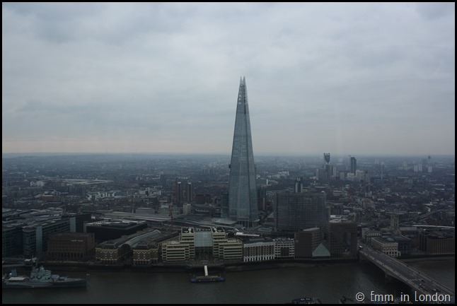 The Shard  from the Sky Garden